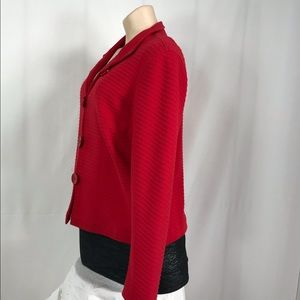Coldwater Creek Jackets & Coats - Cold water creek red blazer size large